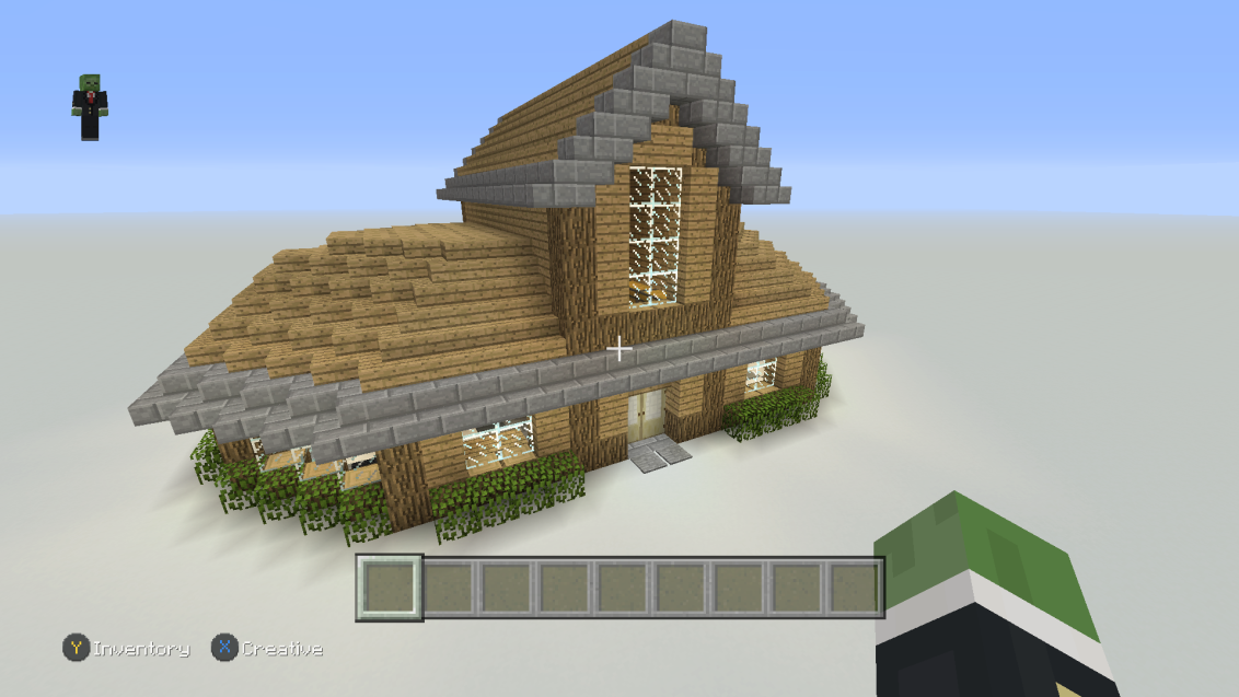 Building A Mansion On Minecraft Gabe Ambrosio